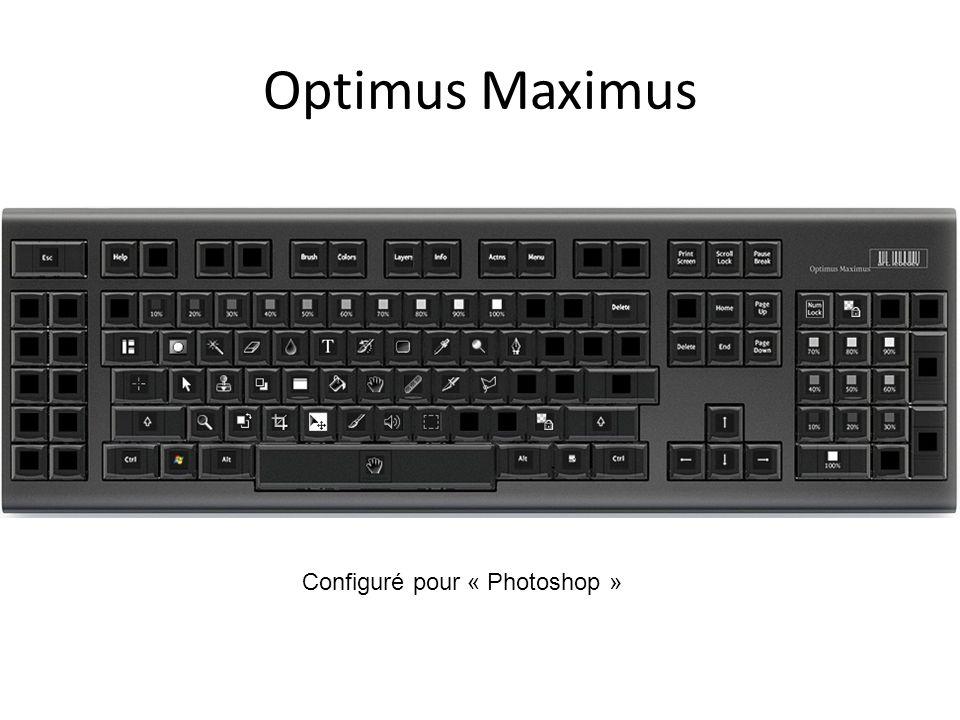Optimus Maximus Configuré pour « Photoshop »