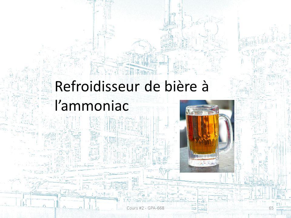 Refroidisseur de bière à lammoniac 65Cours #2 - GPA-668