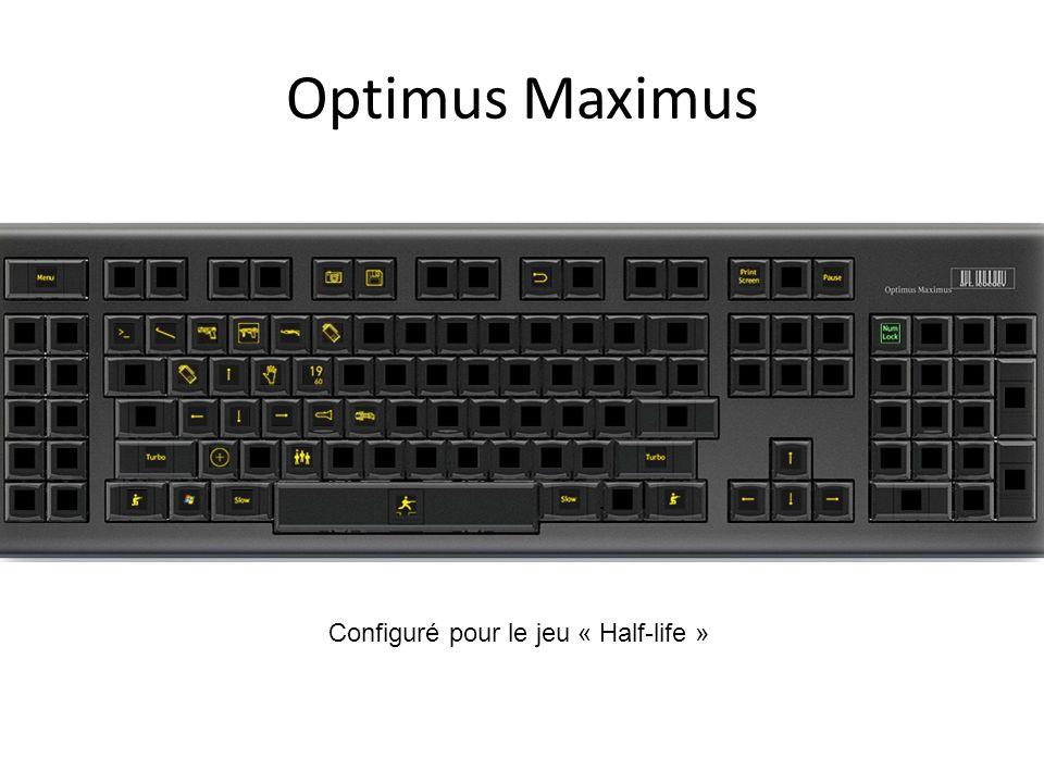 Optimus Maximus Configuré pour le jeu « Half-life »