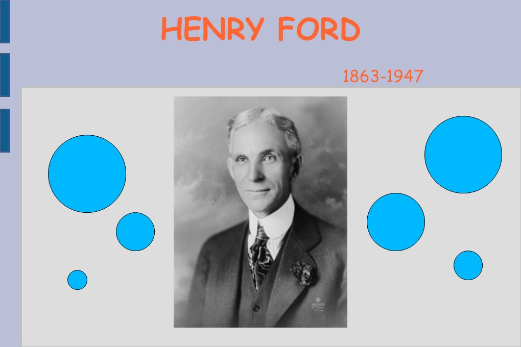 HENRY FORD Copyright Le Guern Maxime 1863-1947