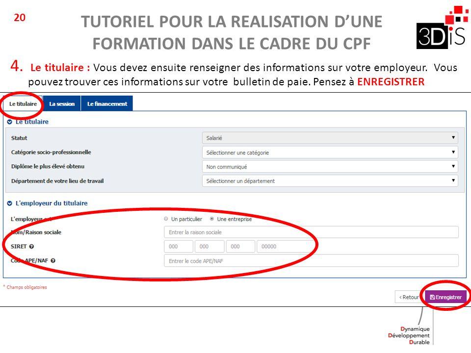 enregistrement fiche de paie
