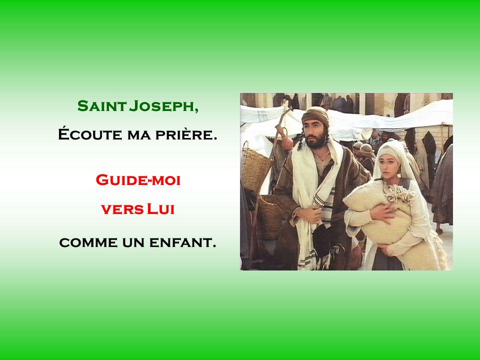 .. SAINT JOSEPH Époux de Marie