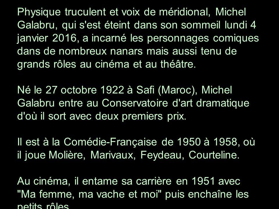 Derrière le monstre sacré du cinéma et du théâtre français se cache un mari, un père et un grand père aimant.