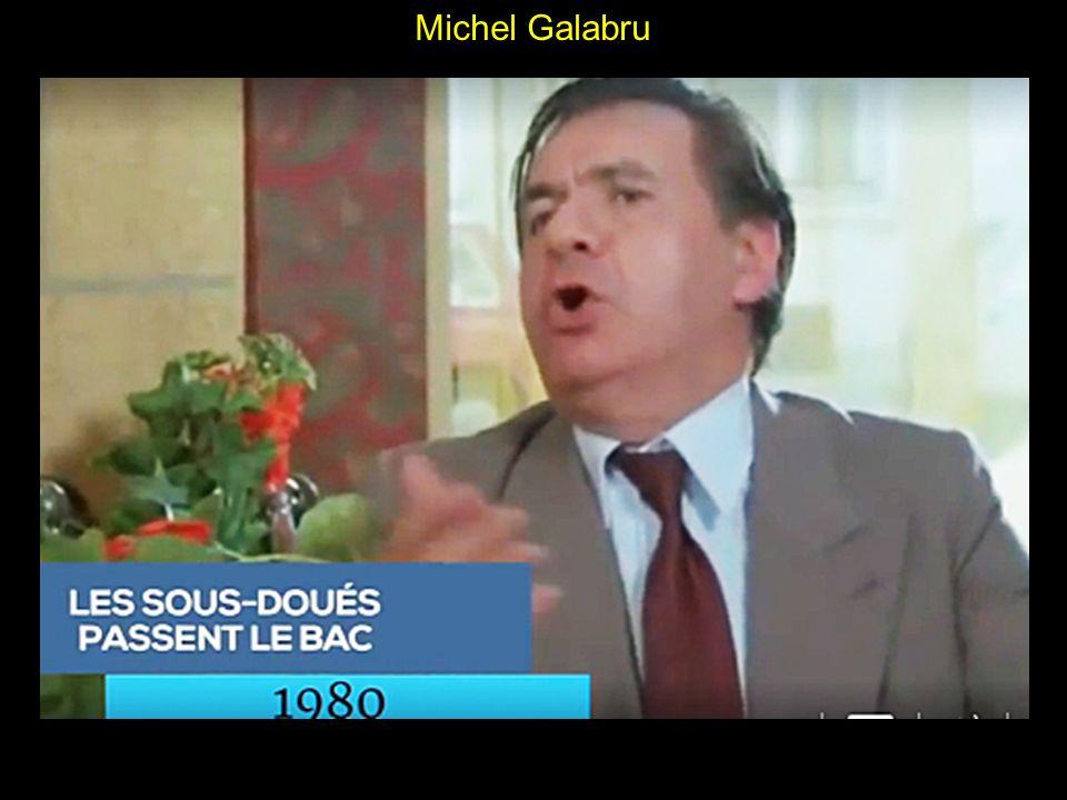 Michel Galabru La notoriété vient avec avec La guerre des boutons (1961, Yves Robert) et surtout la série des Gendarmes de Jean Girault, qui démarre en 1964.
