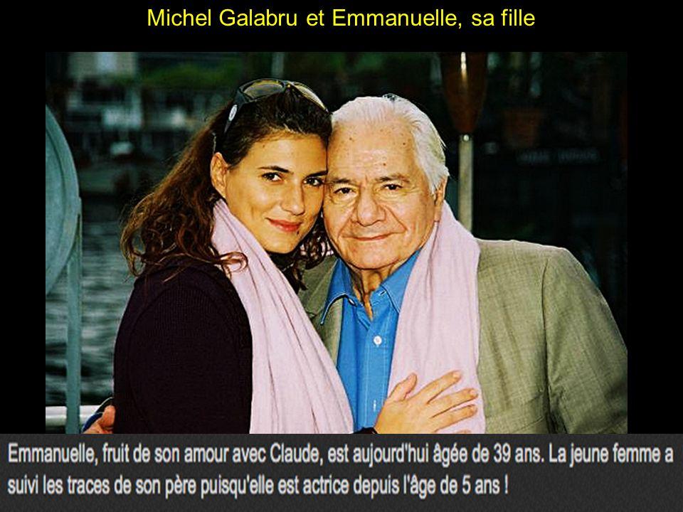 Michel Galabru et sa femme, Claude Etevenon