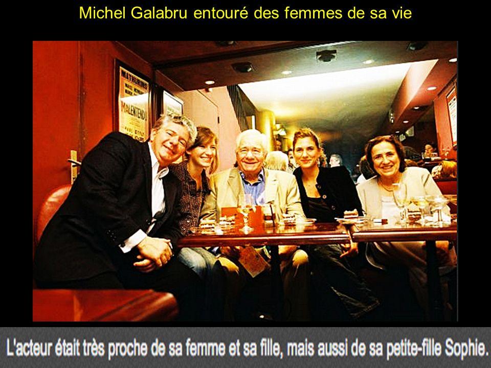 Michel Galabru et Emmanuelle, sa fille