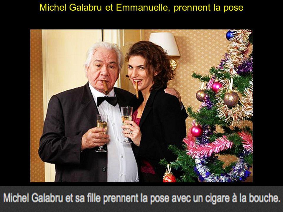 Michel Galabru entouré des femmes de sa vie