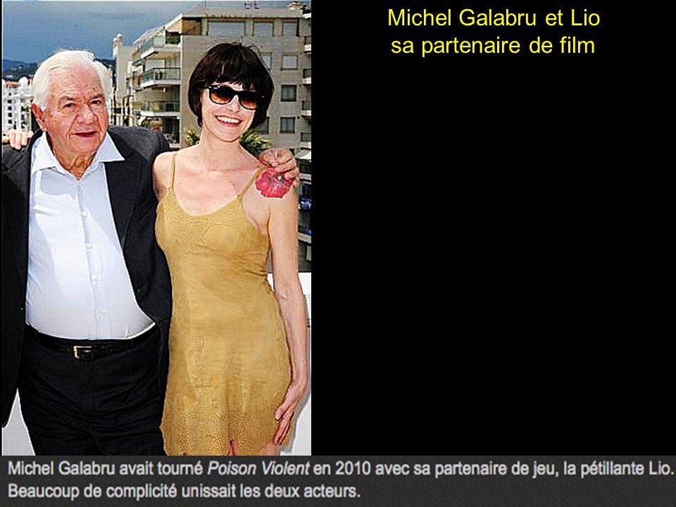 Michel Galabru, moment de tendresse