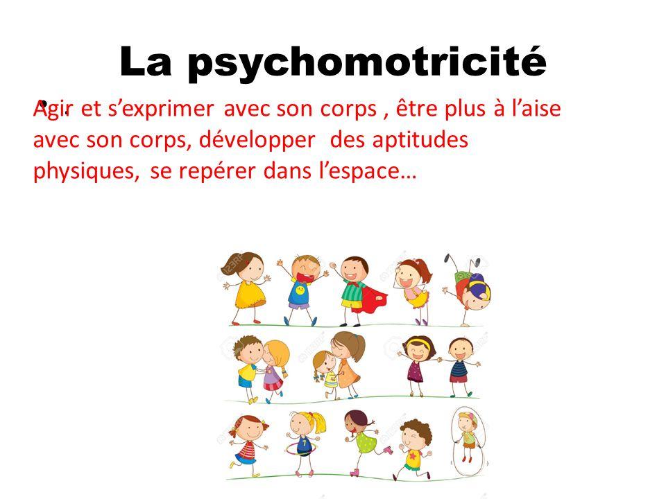 La psychomotricité.