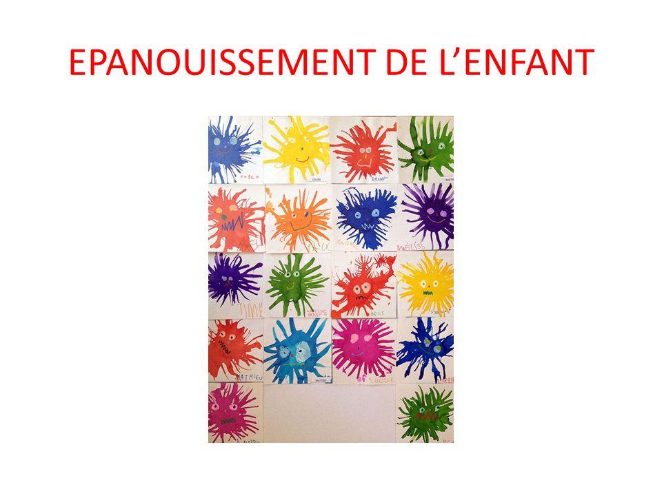 EPANOUISSEMENT DE L'ENFANT