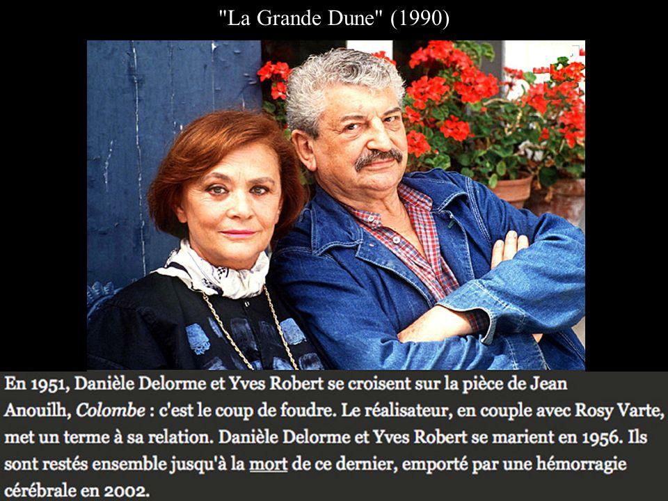 Danièle Delorme et Yves Robert, son 1er mari de1956 à 2002 Yves Robert, son collaborateur avec qui elle a vécu pendant plus de 40 ans, c'est avec lui qu'elle crée la maison de production La Guéville qui a notamment produit le classique La Guerre des boutons.