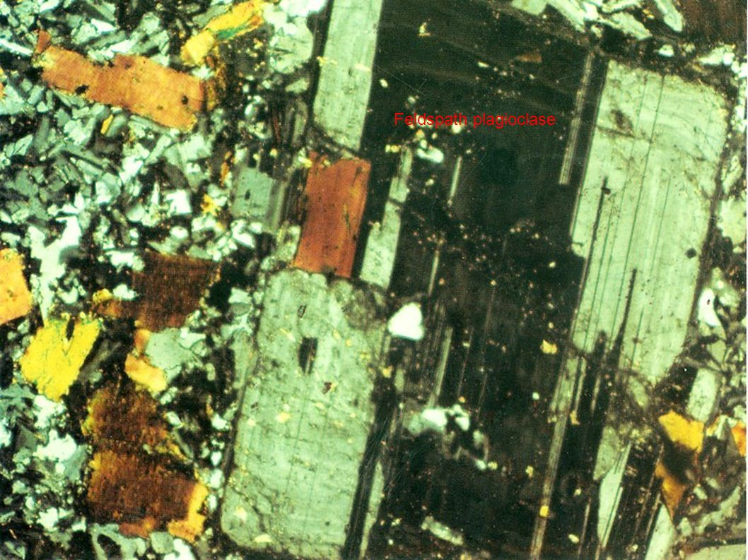 Feldspath plagioclase