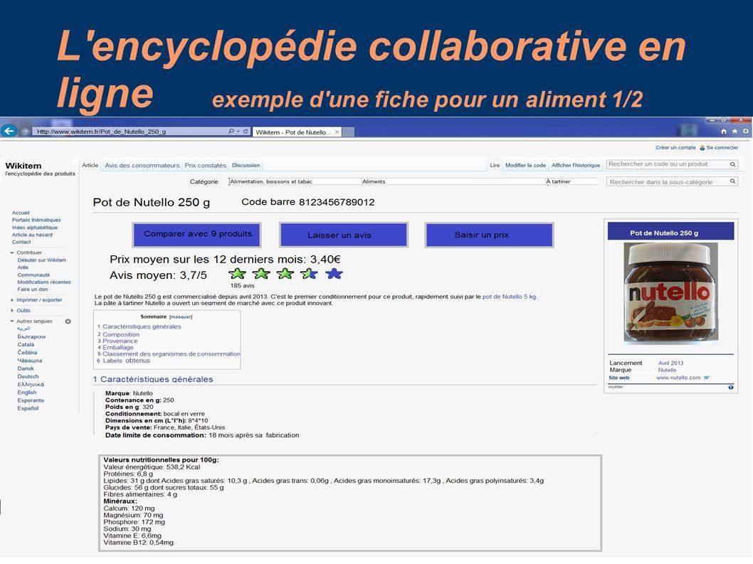 encyclopedie en ligne collaborative