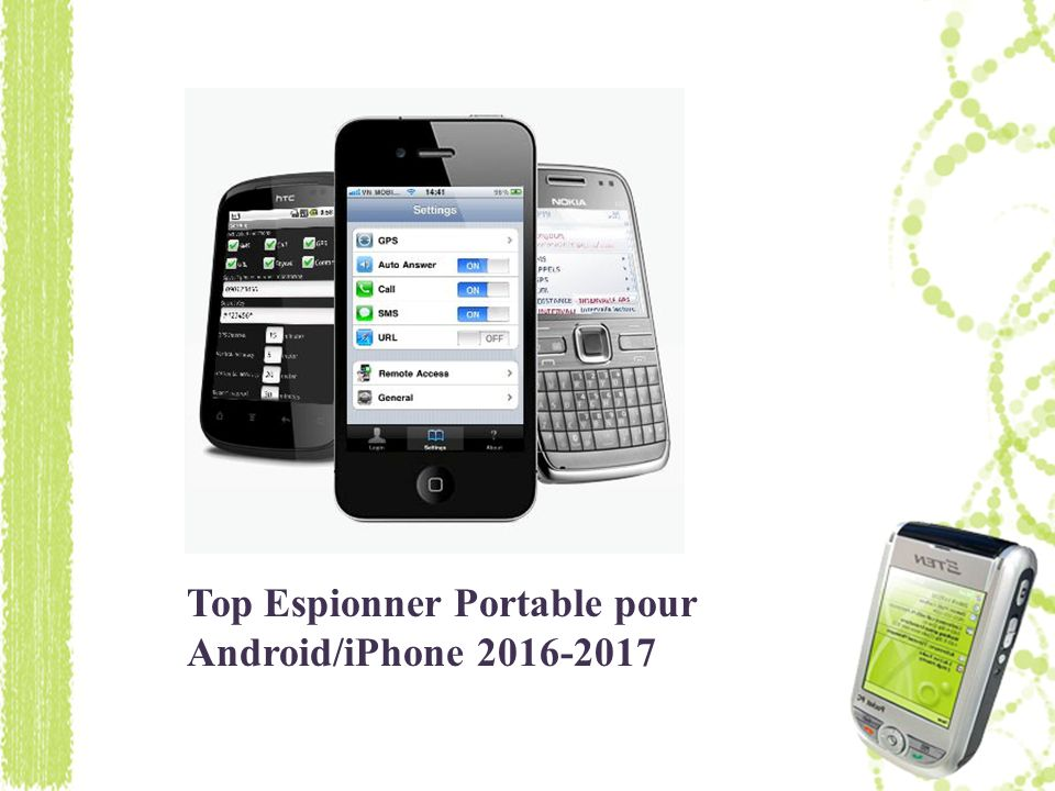 Top Espionner Portable pour Android/iPhone