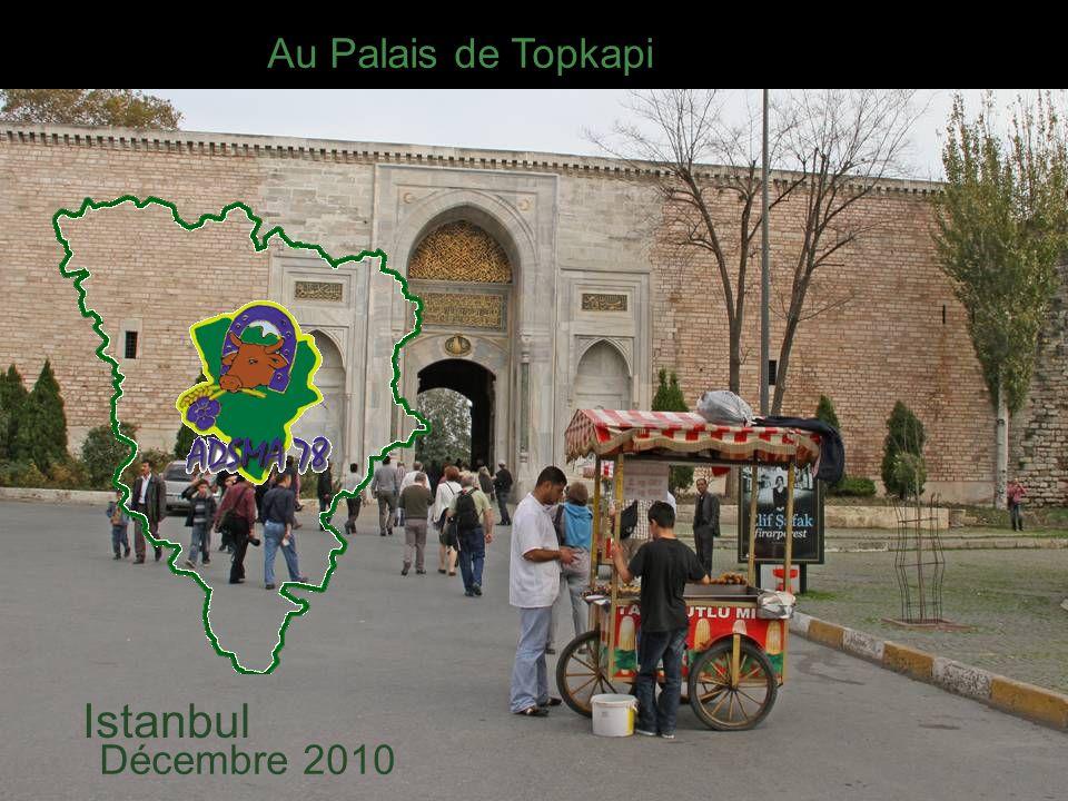 Au Palais de Topkapi Istanbul Décembre 2010