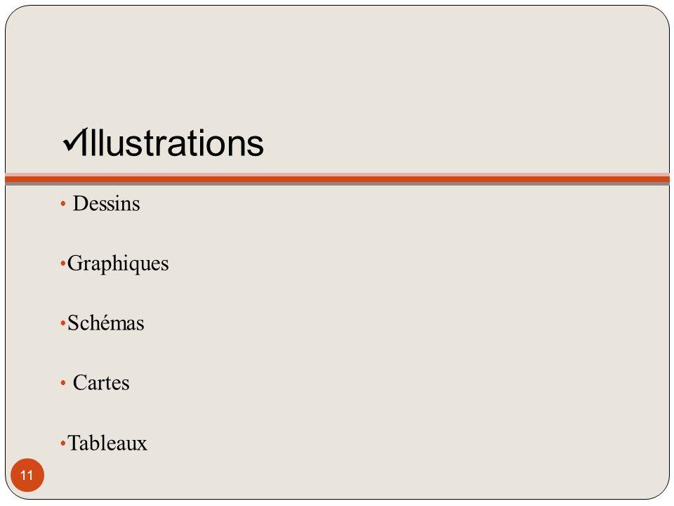 Illustrations Dessins Graphiques Schémas Cartes Tableaux 11