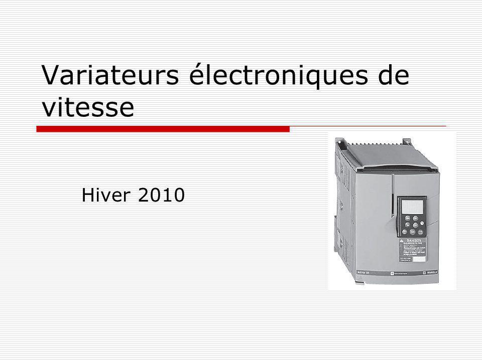 Variateurs électroniques de vitesse Hiver 2010