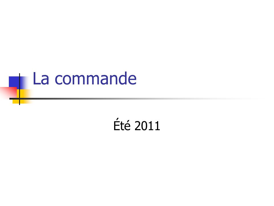 Types de commande Rétroaction (Feedback) P, PI, PD, PID Par « FeedForward » Commande prédictive Par cascade La plus utilisée 2