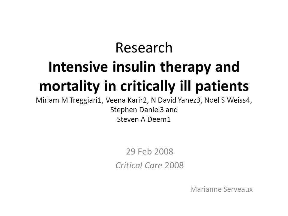 INTRODUCTION CONTEXTE : – Fréquence hyperglycémie de stress en réanimation rôle indiscutable sur morbi-mortalité ( Freire AX et al.