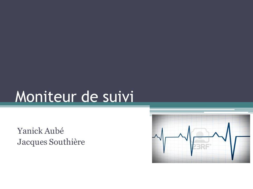 Moniteur de suivi Yanick Aubé Jacques Southière