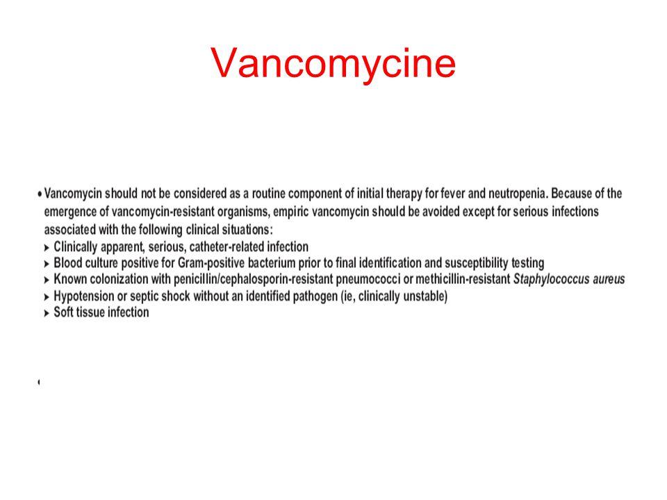 Vancomycine