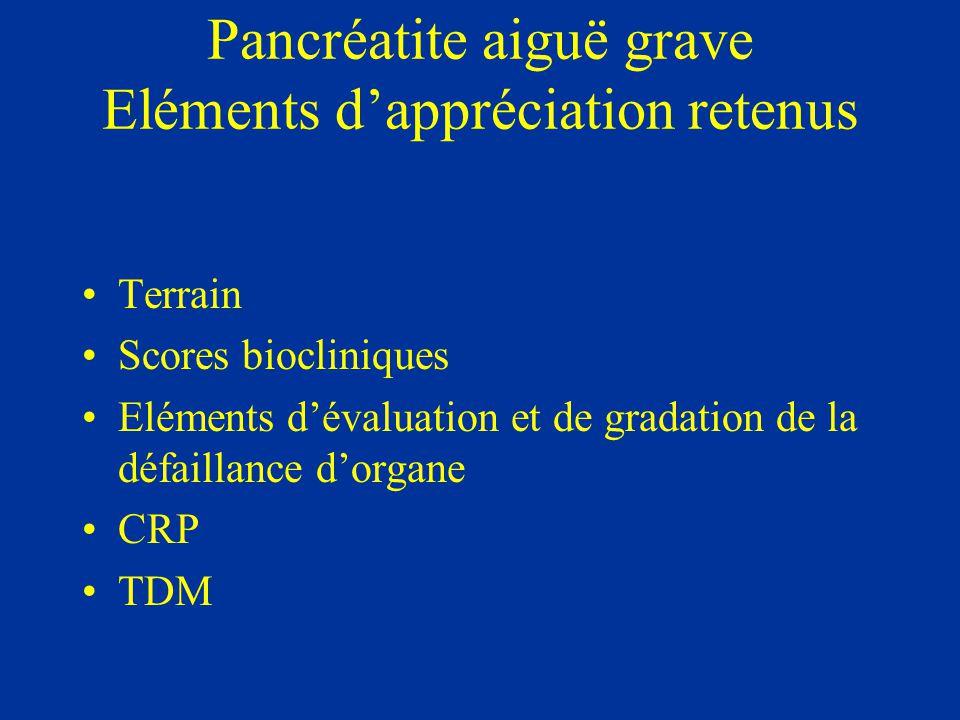 Terrain Age > 80 ans BMI > 30 Insuffisances organiques préexistantes