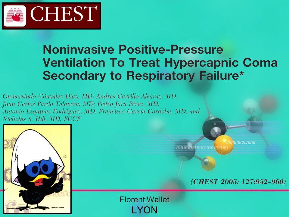 ET… Létiologie de la décompensation respiratoire !!.
