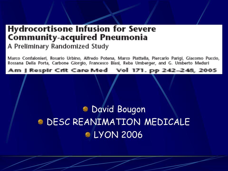 David Bougon DESC REANIMATION MEDICALE LYON 2006