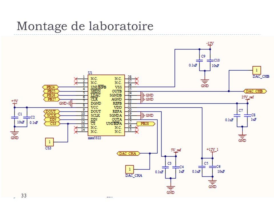Montage de laboratoire 33