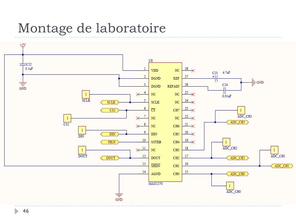 Montage de laboratoire 46