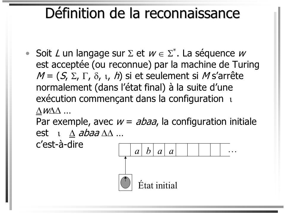 Un programme est une liste finie dinstructions numérotées de 1 à t. Chaque instruction est un switch qui considère les valeurs possibles de linstructi
