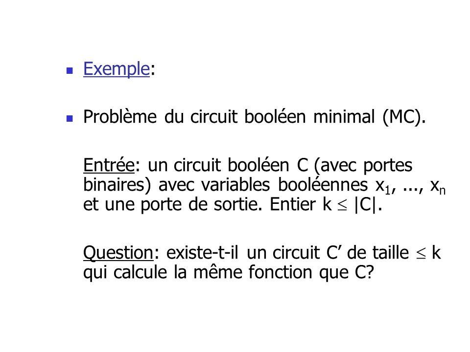 Donc, une immense majorité des choix de t i font en sorte que (A(x) t i ) = C.