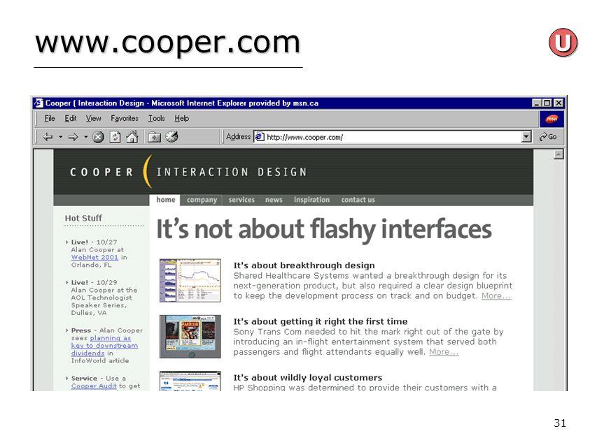 31 www.cooper.com UU