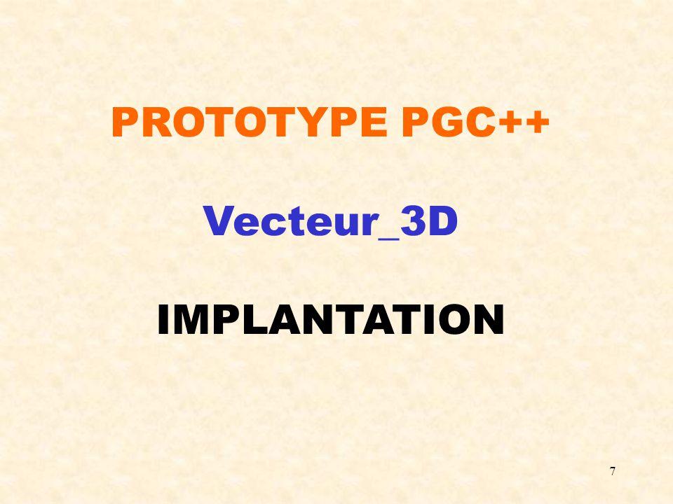 18 #include Point_3D.h class Droite_3D { protected : Point_3D P1;Point_3D P2; public : Droite_3D(Point_3D & P, Point_3D & Q); /*Permet de créer une droite 3D.