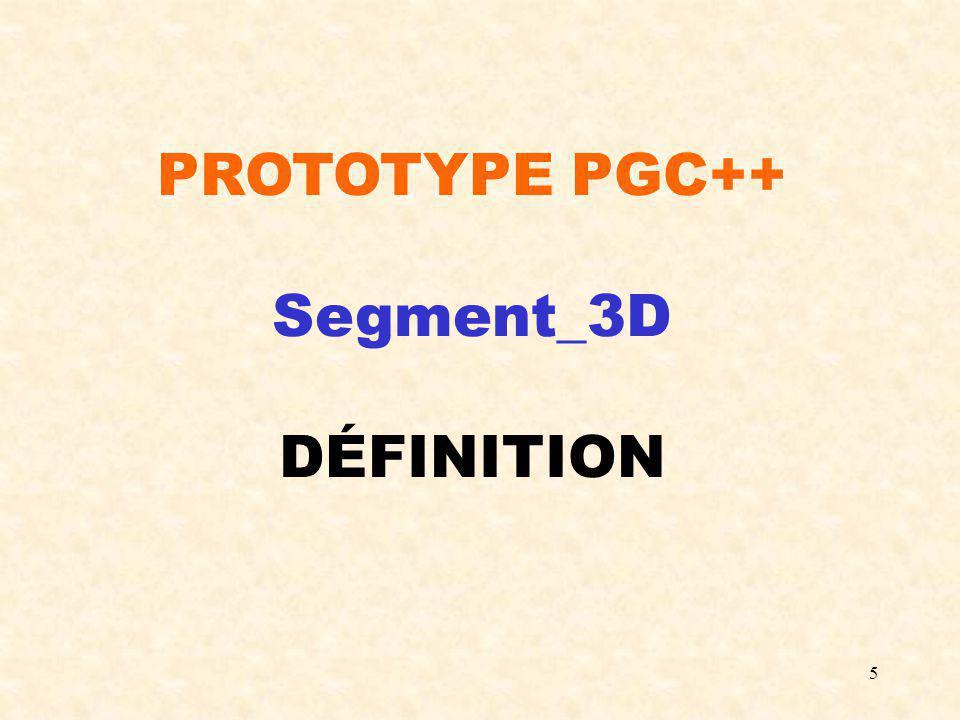 6 #include Courbe_parametrique.h class Segment_3D : public Courbe_parametrique { protected : Point_3D S1; Point_3D S2; public : Segment_3D(Point_3D & P1, Point_3D & P2); /*Permet de créer un segment de droite 3D.