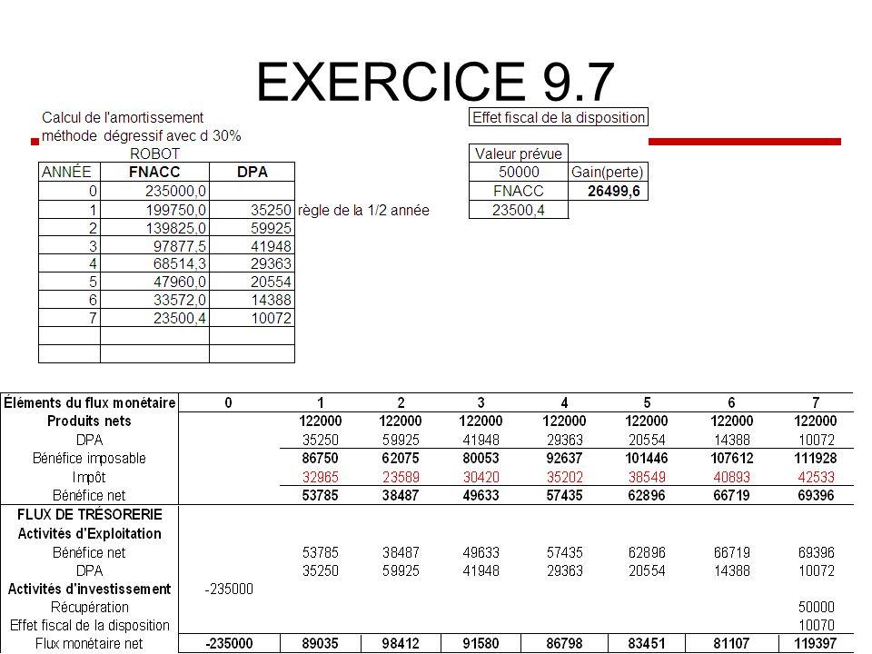EXERCICE 9.7