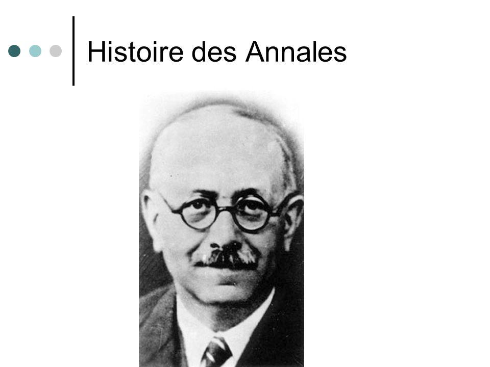 Histoire des Annales