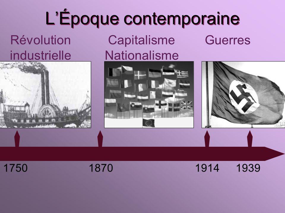 LÉpoque moderne 14921789 Renaissance XVI e s. XVII e s. 1558 à 1603 1643 à 1715 Lumières