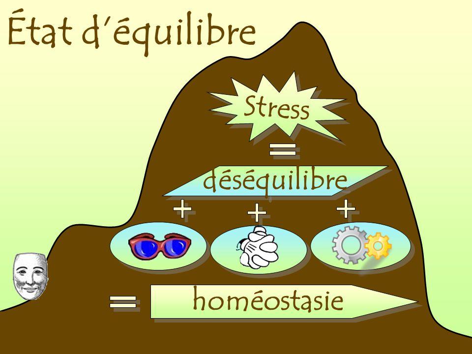 État déquilibre Stress déséquilibre homéostasie