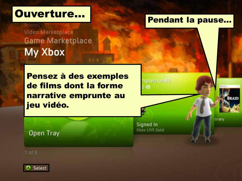 En résumé, suite… En quoi consiste… 1. Linteractivité du récit vidéoludique .