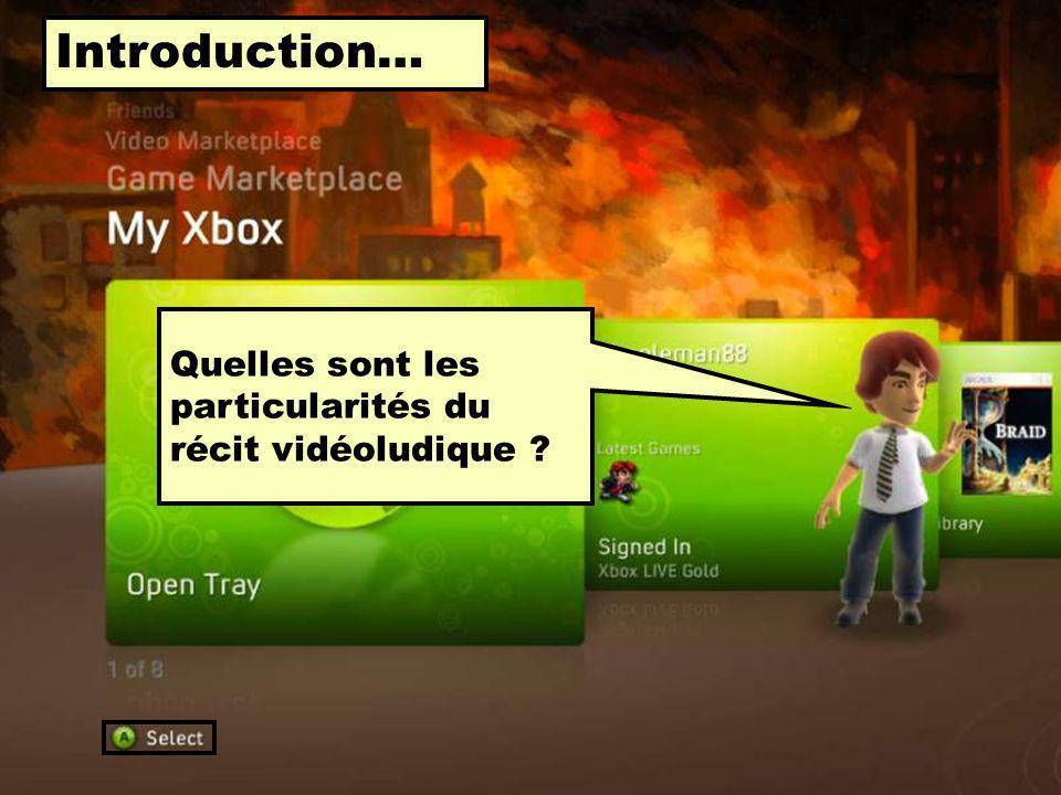 En premier lieu… Quest-ce que le « récit vidéoludique »?