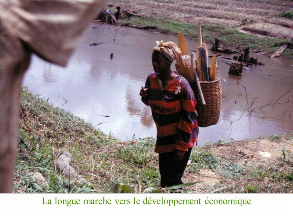 La longue marche vers le développement économique