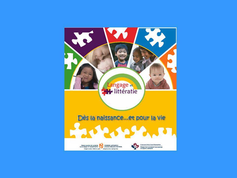 Je grandis et je communique Association canadienne des orthophonistes et audiologistes Ordre des orthophonistes et audiologistes du Québec Réseau canadien de recherche sur le langage et lalphabétisation