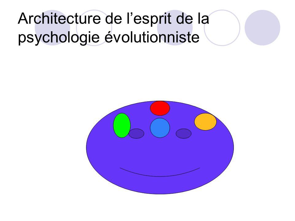 Architecture de lesprit vue par la psychologie