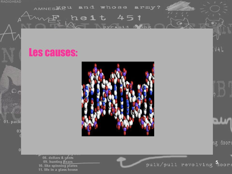 5 Les causes: @ LE STRESS @ BIOLOGIQUE
