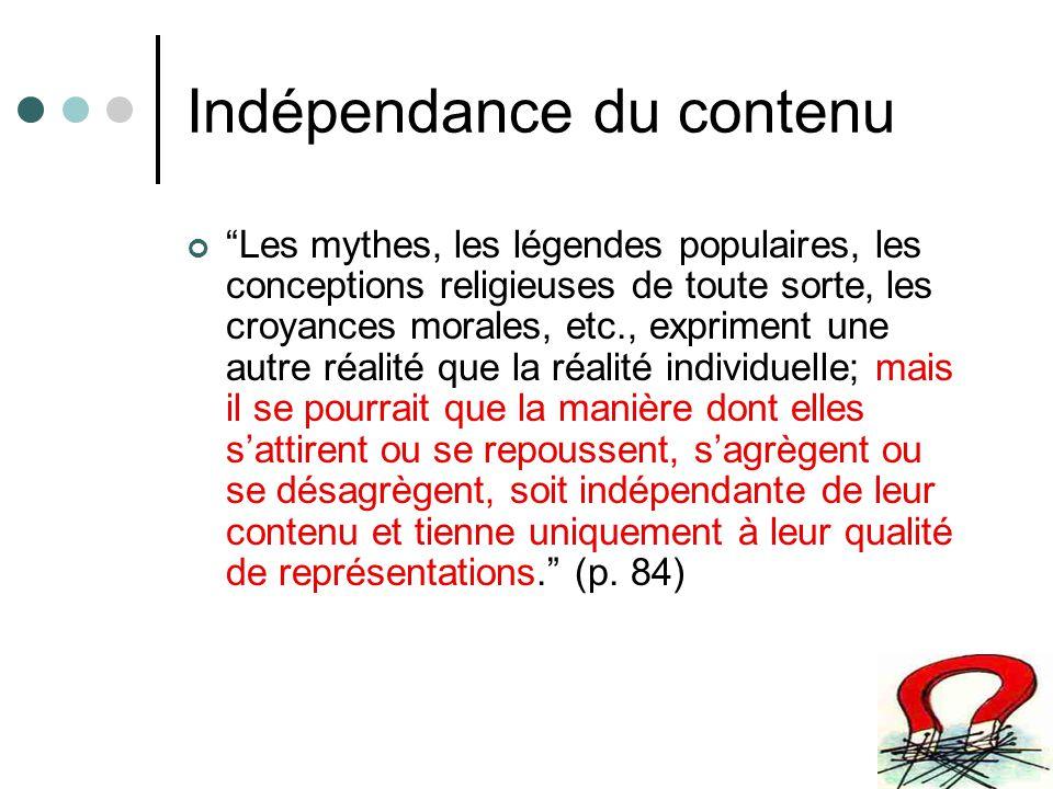 Psychologie formelle On en vient ainsi à concevoir la possibilité dune psychologie toute formelle qui serait un espèce de terrain commun à la psychologie individuelle et à la sociologie.
