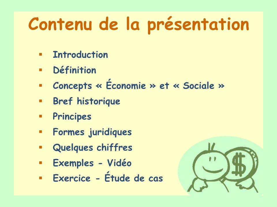 Introduction Et vous, que savez-vous de l économie sociale ?