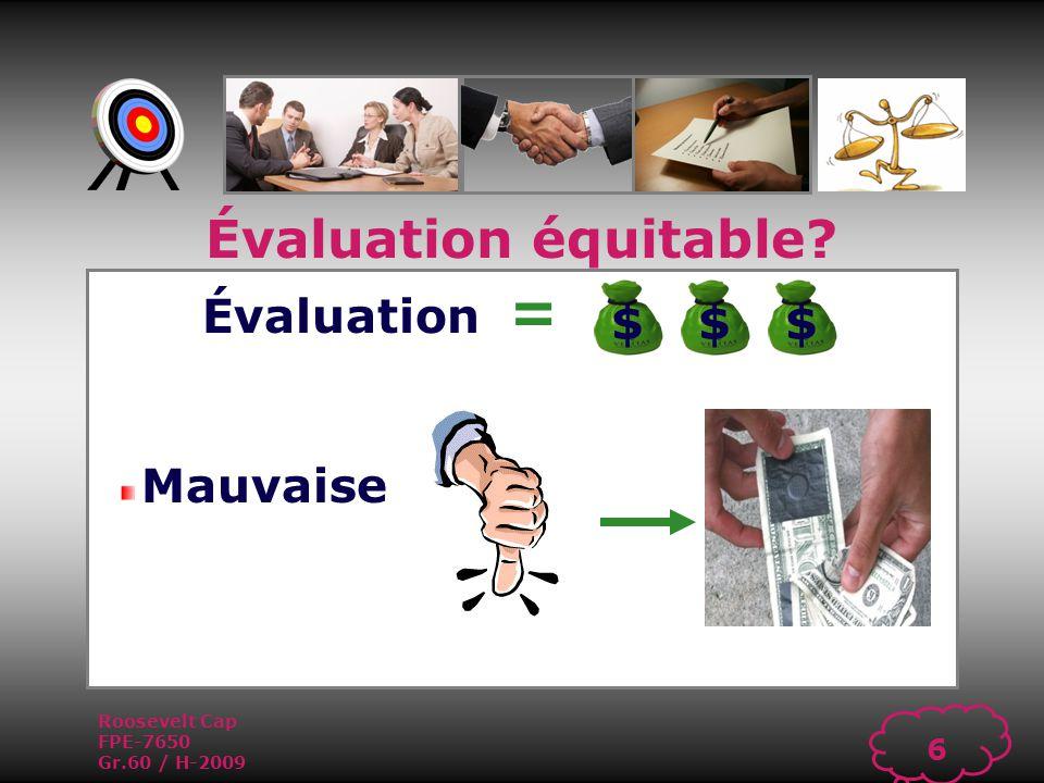 Roosevelt Cap FPE-7650 Gr.60 / H-2009 5 Évaluation = Bonne Évaluation équitable $$$