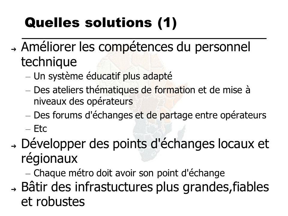 D autres initiatives Les ateliers locaux et régionaux INTIF/AIF.