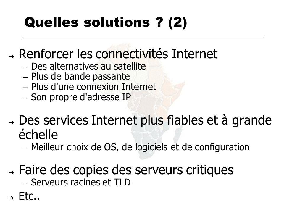 Infrastructures Des câbles sous-marin.